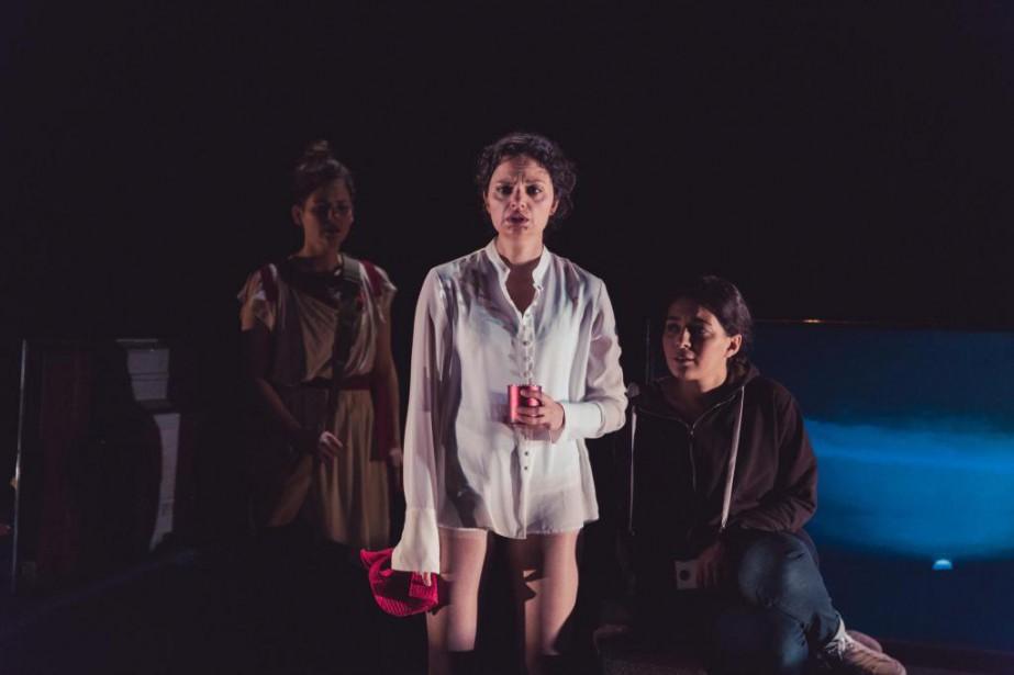 La pièce Antioche de Sarah Berthiaume est présentée... (Photo fournie par le Théâtre Denise-Pelletier)