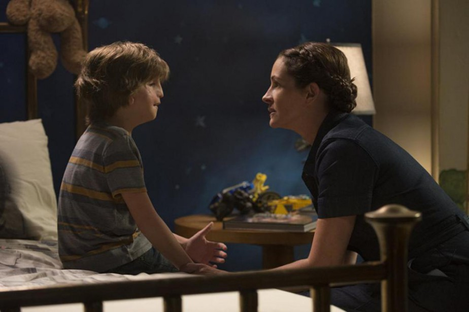 Jacob Tremblay et Julia Roberts dans Wonder... (photo fournie par Lionsgate)