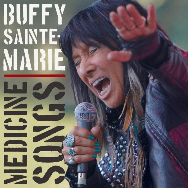 Medicine Songs,de Buffy Sainte-Marie... (Image fournie par True North)