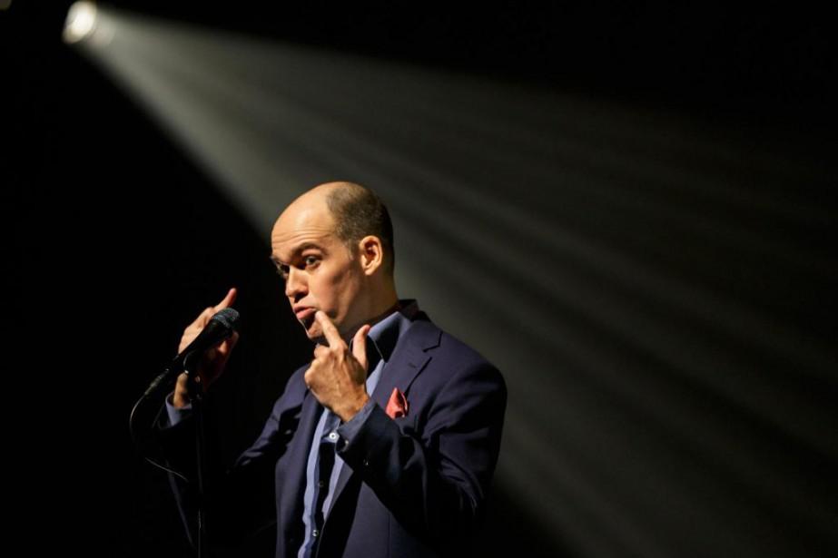 L'humoriste GuyNantel a suscité la controverse avec son... (Photo OlivierJean, La Presse)