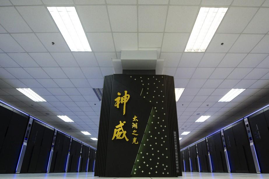 Au total, 202 des 500 super-ordinateurs les plus... (AP)