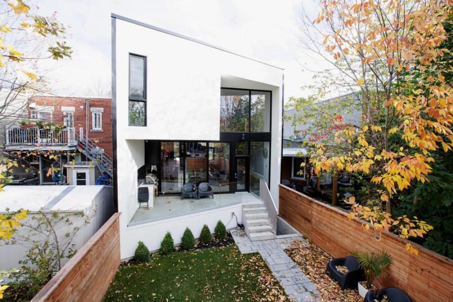 Cette maison, réalisée par la firme d'architecture Microclimat,... (Photo Alain Roberge, La Presse)