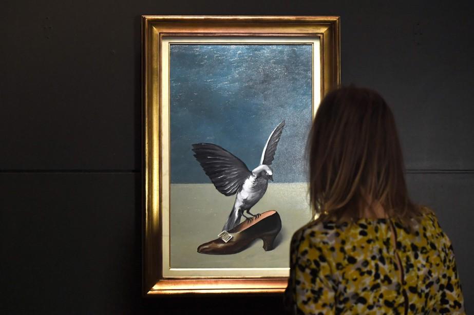 Un Tableau Disparu De Magritte Reconstitue Integralement La Presse