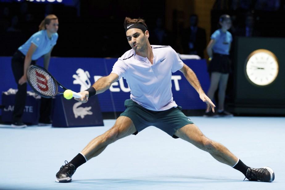 Roger Federer... (Photo AP)