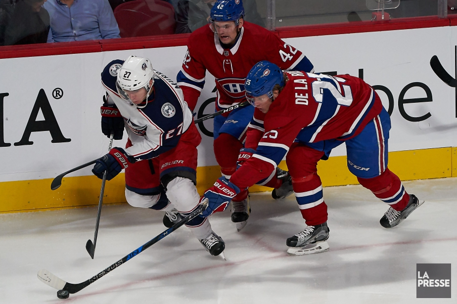 Ryan Murray (27), Jacob De La Rose (25)... (PHOTO ANDRÉ PICHETTE, ARCHIVES LA PRESSE)