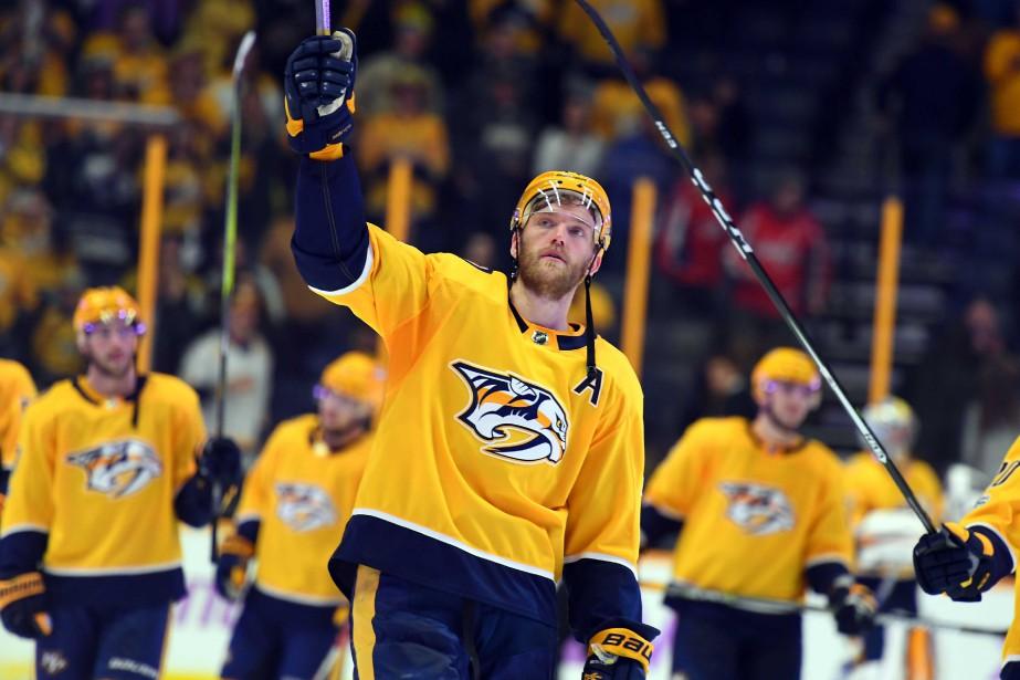Mattias Ekholm... (Photo Christopher Hanewinckel, USA TODAY Sports)