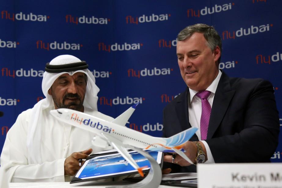 L'entente porte sur l'achat de 225 appareils Boeing... (REUTERS)
