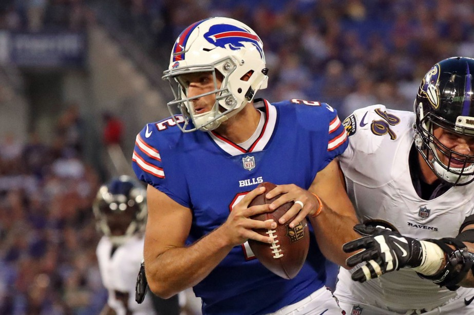 Nathan Peterman... (Photo Mitch Stringer, USA Today Sports)