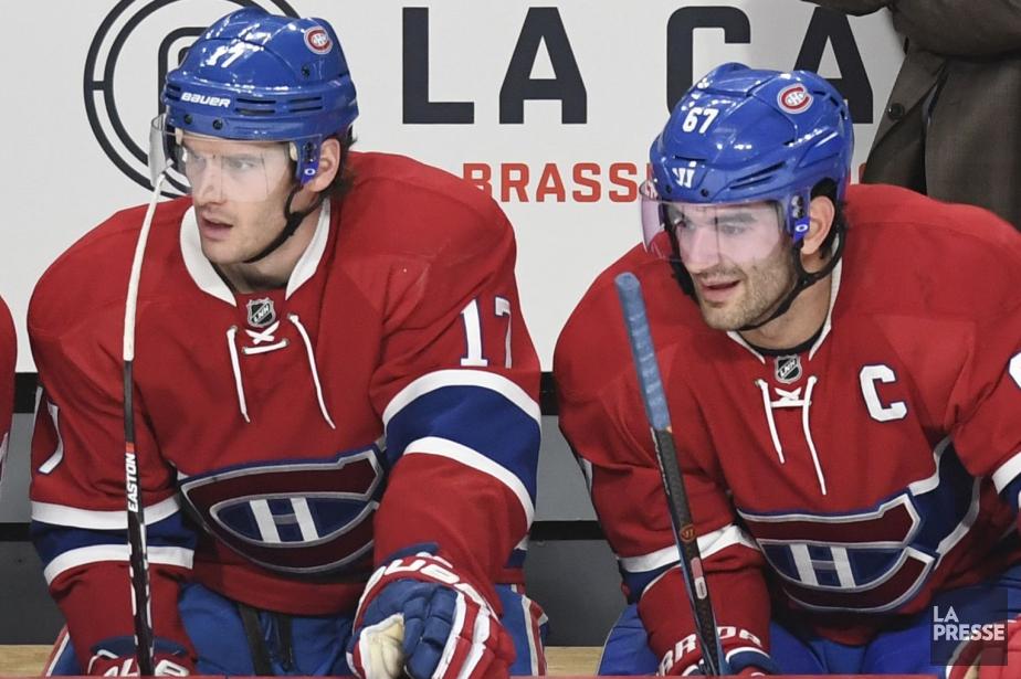 Torrey Mitchell et Max Pacioretty... (Photo Bernard Brault, archives La Presse)