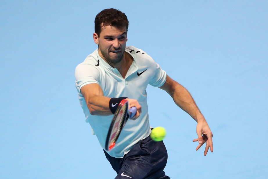 Grigor Dimitrov... (Photo Hannah McKay, Reuters)