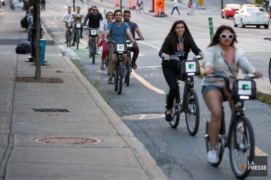 Le système de vélo en libre-service... (Photo Simon Giroux, archives La Presse)