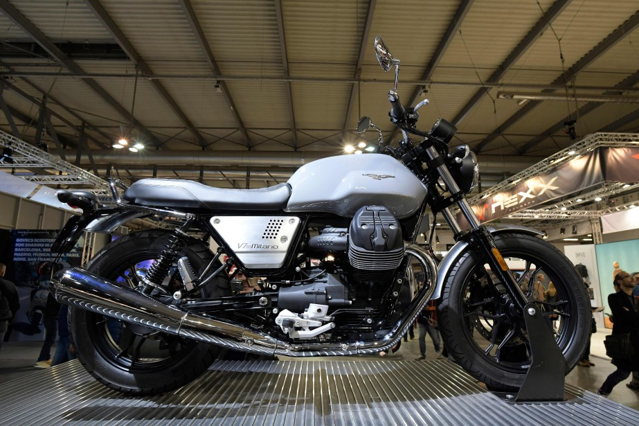 La nouvelle Moto Guzzi V7 III Milano. | 15 novembre 2017