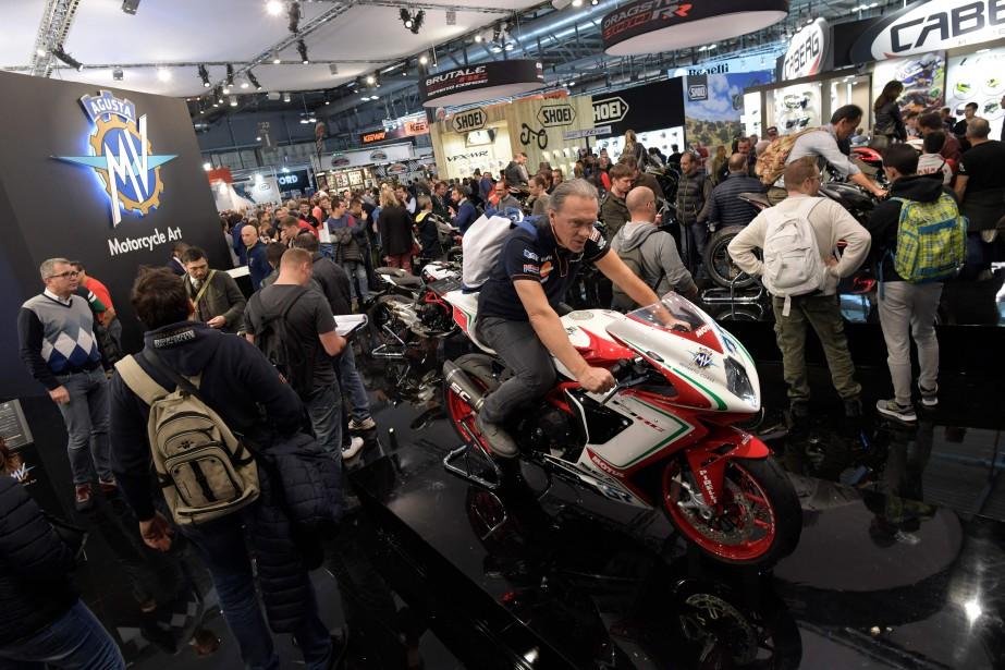 L'Esposizione Internationale del Ciclo e Motociclo  est un des salons de la moto les plus courus au monde. | 15 novembre 2017