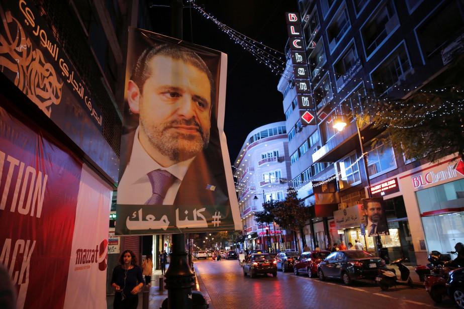 Saad Hariri a justifié sa démission par la... (PHOTO REUTERS)