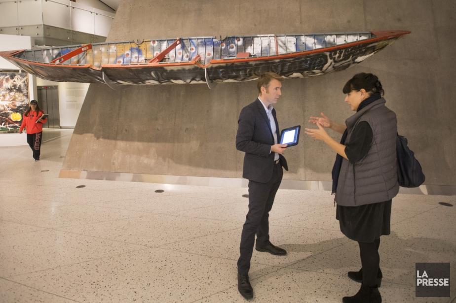 Yannis Mallat, président-directeur général d'Ubisoft Montréal, Québec, Saguenay,... (Photo Ivanoh Demers, La Presse)