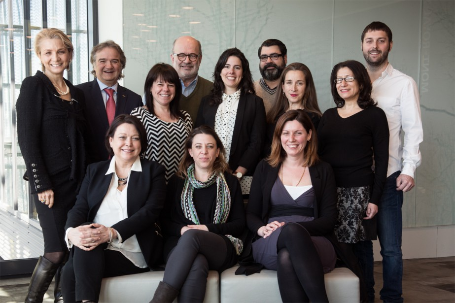 Le comité du nouveau gala Les Lauriers est... (Photo fournie par Les Lauriers)