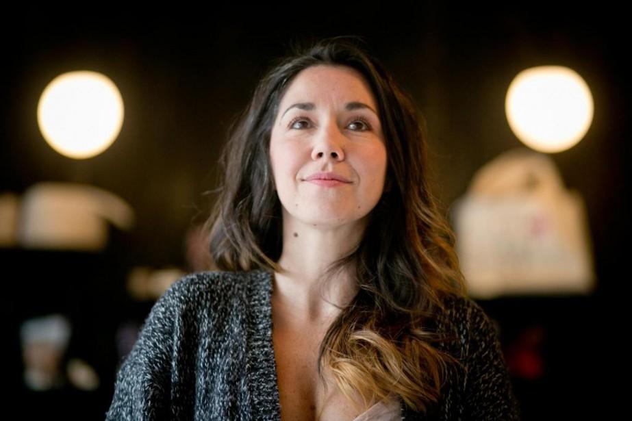 Sophie Bienvenu, invitée d'honneur du Salon cette année,... (Photo François Roy, La Presse)
