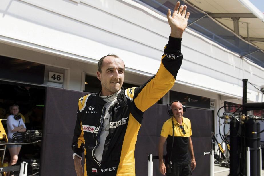 Le Polonais Robert Kubica est pressenti pour prendre la place... | 2017-11-16 00:00:00.000