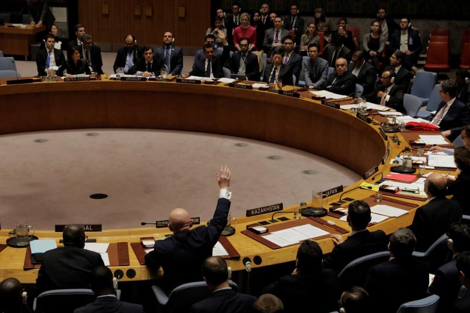 Il s'agit du dixième veto russe concernant la... (PHOTO REUTERS)
