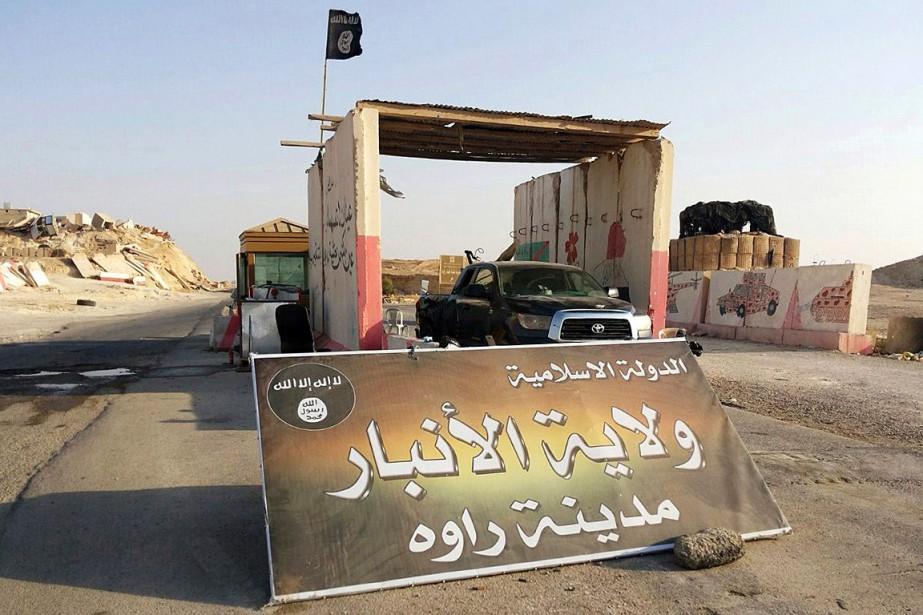 Le groupe État islamique (EI) ne contrôlent plus... (PHOTO ARCHIVES ASSOCIATED PRESS)