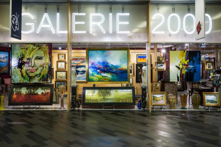 Selon un évaluateur, la valeur des oeuvres d'art... (PHOTO OLIVIER PONTBRIAND, LA PRESSE)