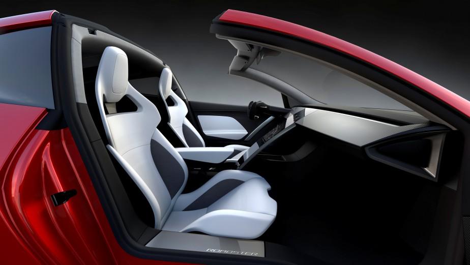 L'intérieur du Roadster 2. | 17 novembre 2017