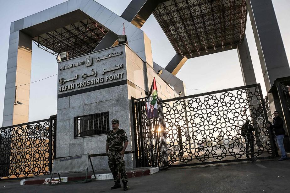 Le point de passage de Rafah, seule ouverture... (PHOTO SAID KHATIB, AGENCE FRANCE-PRESSE)