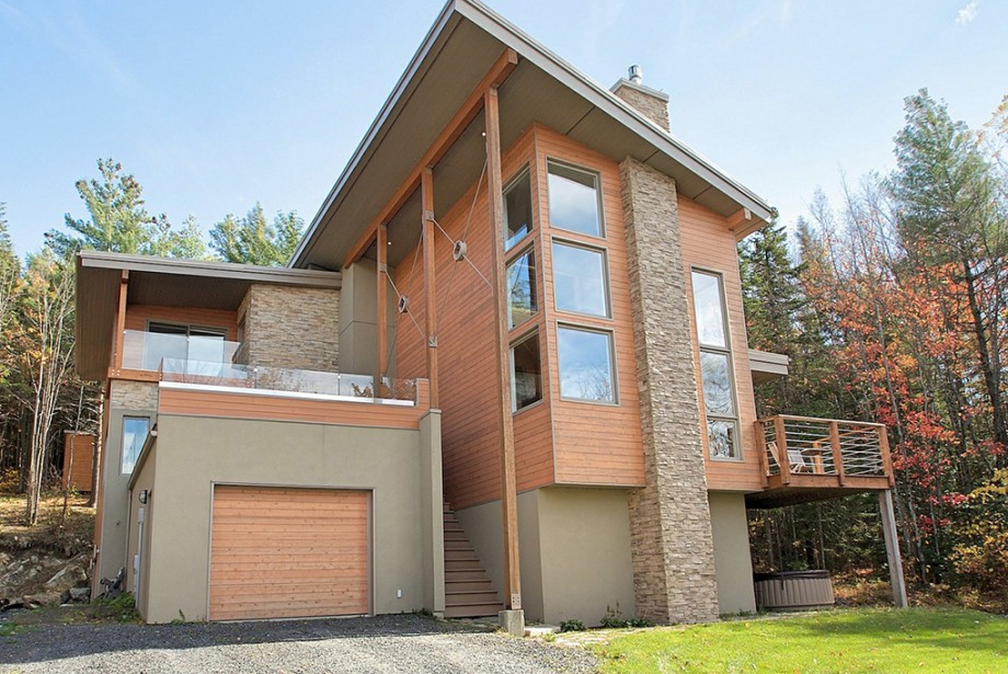 Bien que contemporaine, l'architecture de la maison n'est... (Photo fournie par Équipe Lacroix)