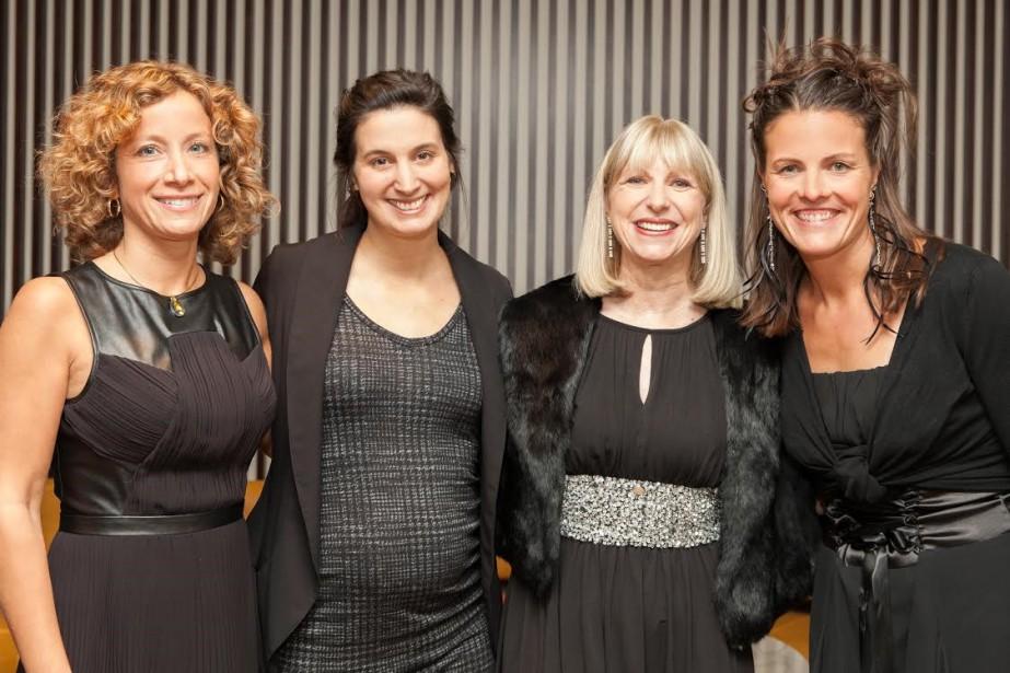 De gauche à droite : Jehane Dagher, Gabrielle... (Photo fournie par la Fondation)