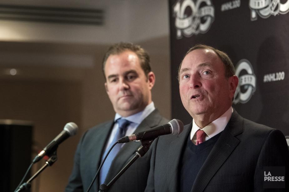 Le propriétaire et président du Canadien de Montréal,Geoff... (Photo Marco Campanozzi, La Presse)