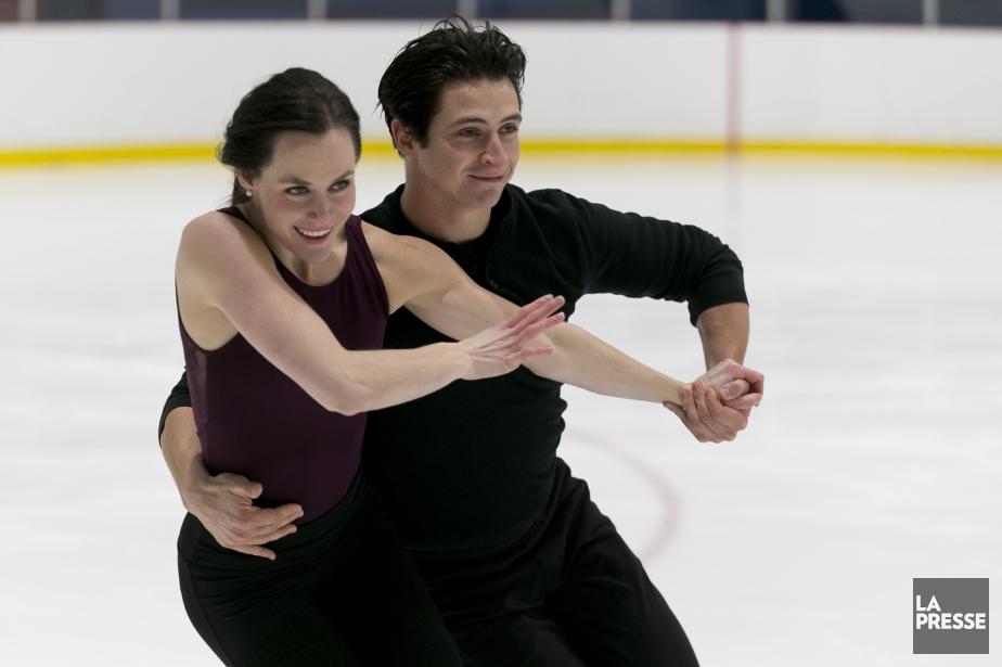 Tessa Virtue et Scott Moirtravaillent d'arrache-pied à Montréal... (Photo François Roy, La Presse)