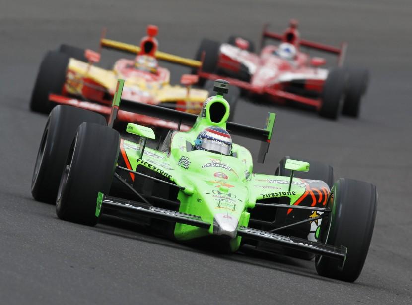 La pilote IndyCar Danica Patrick lors des essais libres avant la 100e édition des 500 milles d'Indianapolis, le 27 mai 2011. | 17 novembre 2017