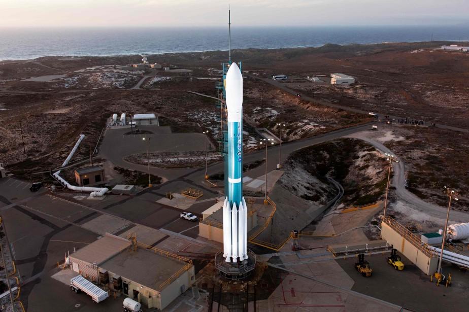 Le lancement du satellite, le «Joint Polar Satellite... (AFP)