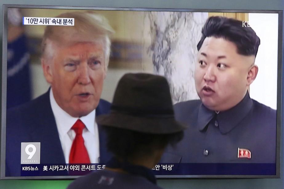 Le président américain Donald Trump a décidé de... (Photo Ahn Young-joon, AP)
