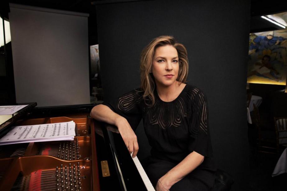 La chanteuse DianaKrall donne un concert cesoir au... (PHOTO JESSE DITTMAN, ARCHIVES THE NEW YORK TIMES)