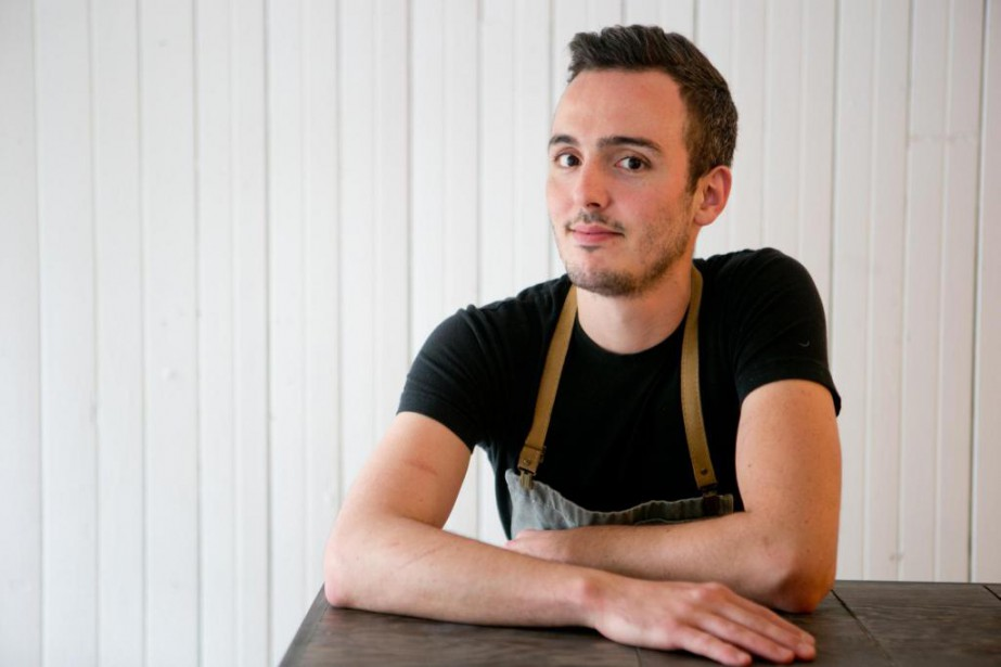 Le chef pâtissier Nick Kemball a pris la... (Photo David Boily, La Presse)