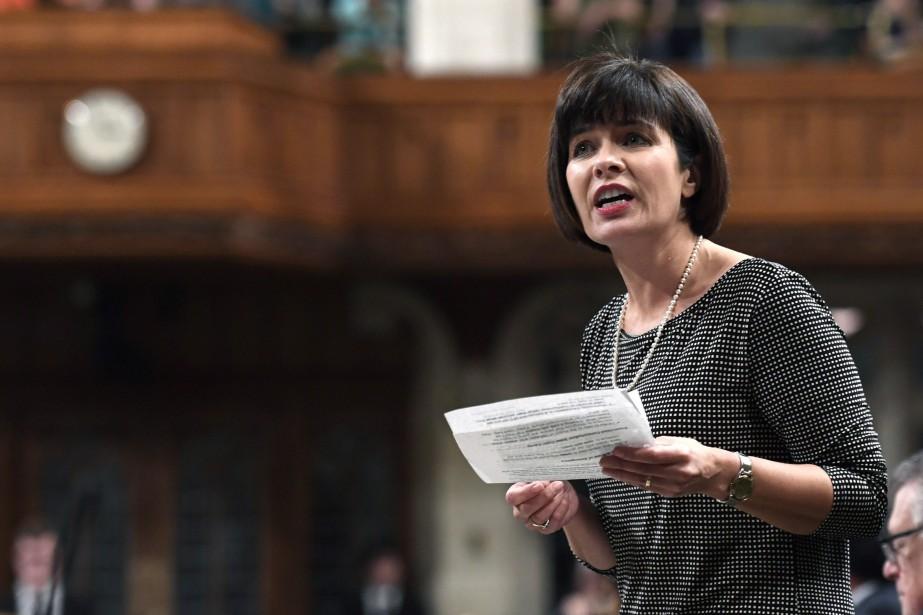La ministre fédérale de la Santé, Ginette Petitpas... (Photo Justin Tang, archives La Presse Canadienne)