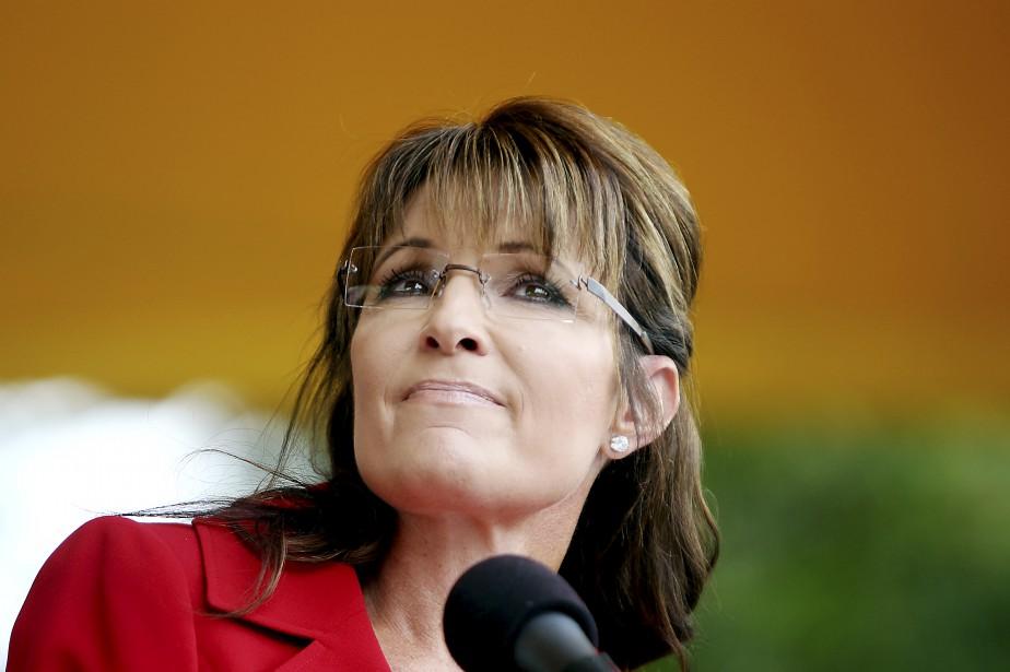 L'ancienne gouverneure de l'Alaska, Sarah Palin.... (PHOT THE NEW YORK TIMES)