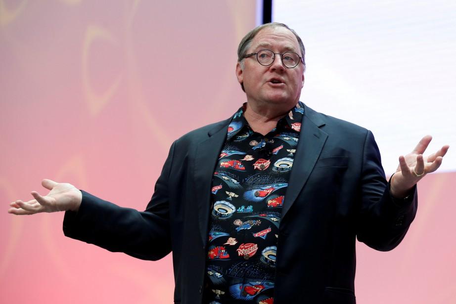 John Lasseter, forte carrure, allure bonhomme et connu... (PHOTO REUTERS)