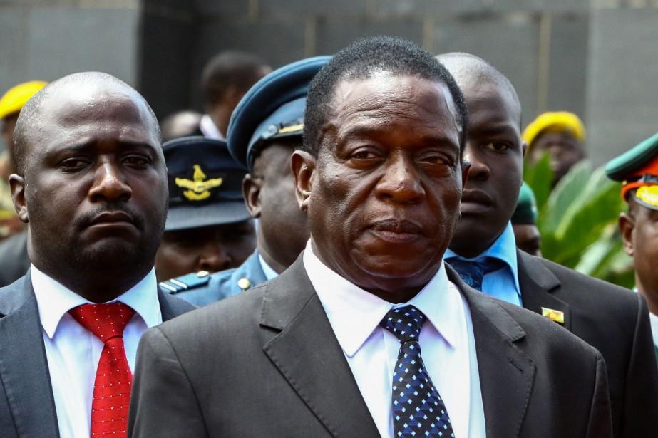 Emmerson Mnangagwa... (AFP)