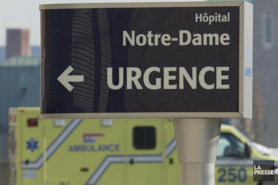 Dimanche, l'urgence de Notre-Dame fermera dès 5h. À... (Photo André Pichette, archives La Presse)