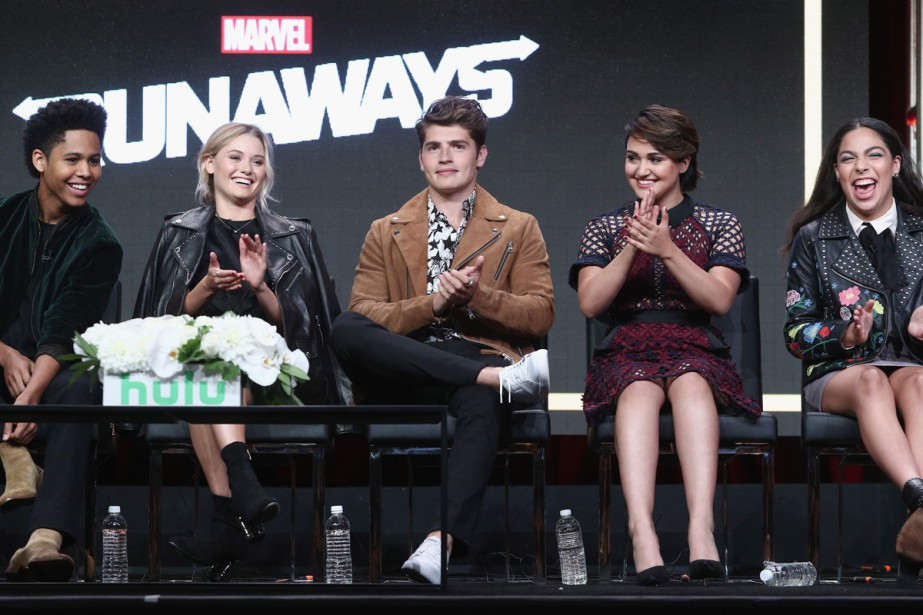 Rhenzy Feliz, Virginia Gardner, Gregg Sulkin, Ariela Barer... (Photo AFP)