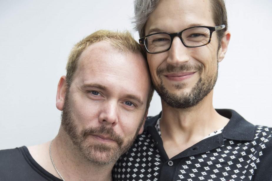Dave Mullins et Charlie Craig... (Photo Molly Kaplan, archives Agence France-Presse)