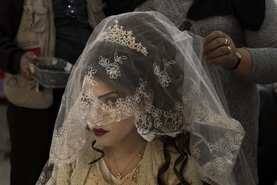 Une jeune future mariée irakienne de 16 ans.... (Photo Bram Janssen, archives Associated Press)