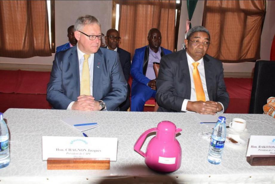 Jacques Chagnon se trouve au Burundi cette semaine.... (PHOTO TIRÉE DE TWITTER)