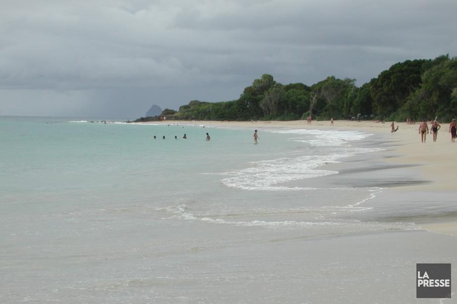Une plage de la Martinique... (Photo archives La Presse)