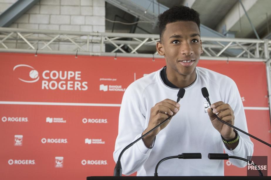 Félix Auger-Aliassime, 17 ans,est passé du 614e rang... (Photo Ivanoh Demers, archives La Presse)