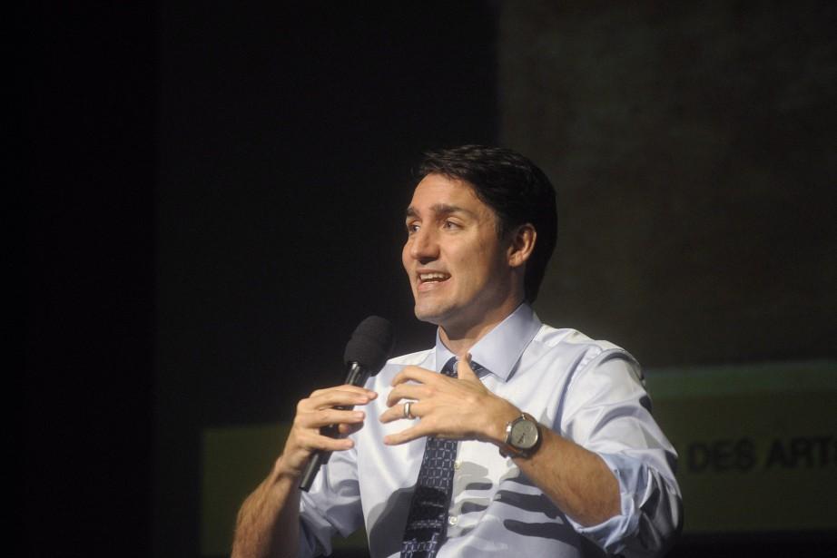 Le premier ministre du Canada, Justin Trudeau... (PHOTO Nathan Rochford, LA PRESSE CANADIENNE)