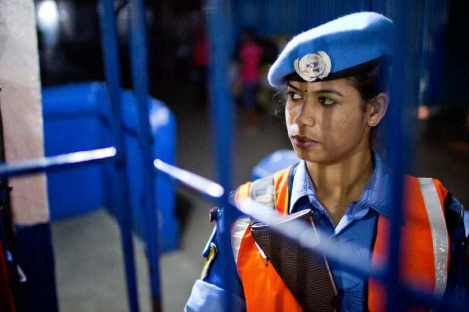 Les Nations unies estiment que le pourcentageactuelde femmes... (Photo David Boily, Archives La Presse)