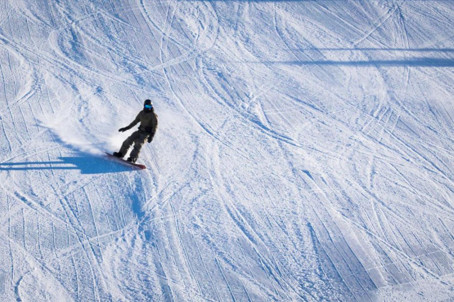 La neige sera-t-elle au rendez-vous sur les pentes... (Photo Yannick Fleury, La Presse)